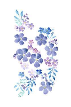 Amethystine Blooms II by Regina Moore