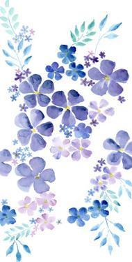 Amethystine Blooms III by Regina Moore