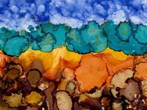 Autumn Terrain II by Regina Moore