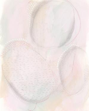 Blush Ovale I by Regina Moore