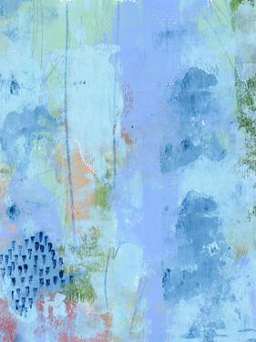 Colored Bleu IV by Regina Moore