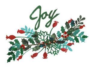 Cut Wreath Christmas I by Regina Moore