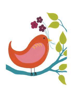 Cute Bird I by Regina Moore