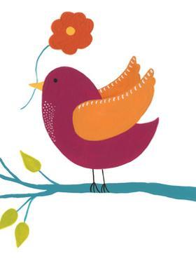 Cute Bird II by Regina Moore