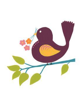 Cute Bird IV by Regina Moore