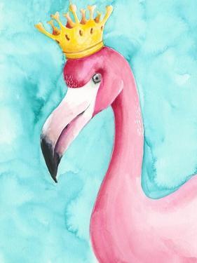 Flamingo Queen I by Regina Moore
