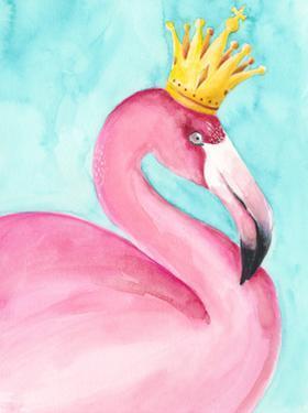 Flamingo Queen II by Regina Moore
