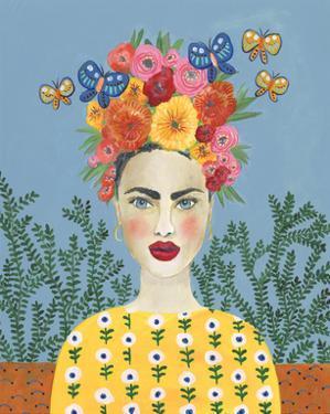 Frida Headdress I by Regina Moore