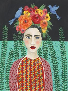 Frida Headdress II by Regina Moore