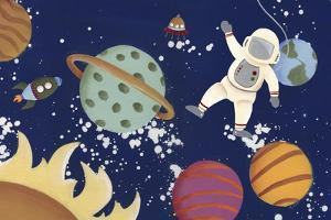 Future Space Explorer Collection A by Regina Moore