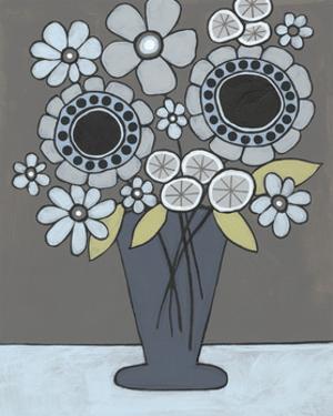 Happy Garden Flowers II by Regina Moore