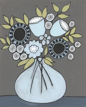 Happy Garden Flowers III by Regina Moore