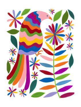 Otomi Bird IV by Regina Moore