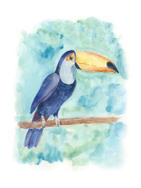 Sweet Tropical Bird I by Regina Moore