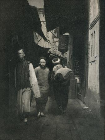 'A Street In China', c1927, (1927)