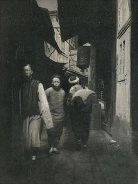 'A Street In China', c1927, (1927) by Reginald Belfield