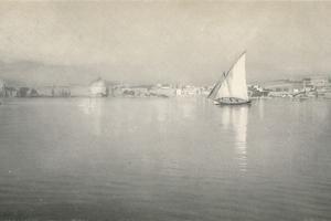 'In the Harbour, Palma, Majorca', c1927, (1927) by Reginald Belfield