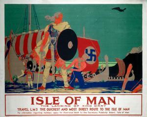 Isle of Man, LMS, c.1920s by Reginald Higgins