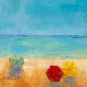 Parasols I by Regine Pivier-Attolini