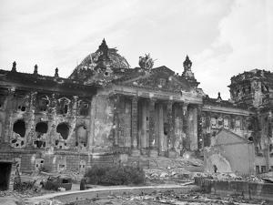 Reichstag after World War II