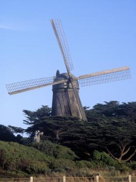 Dutch Windmill, Golden Gate Park, San Francisco by Reid Neubert