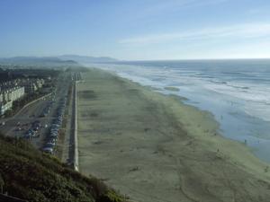 Ocean Beach from Sutro Heights Park, San Francisco by Reid Neubert