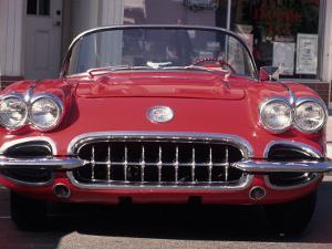 Vintage Chevrolet Corvette by Reid Neubert