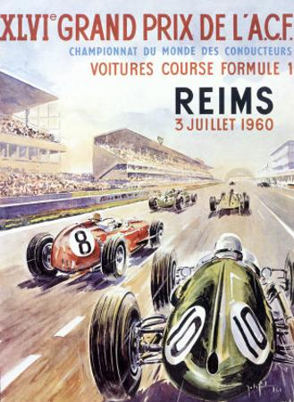 Reims F1 French Grand Prix, c.1960