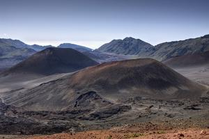 Crater of Haleakala Volcano, Maui, Hawaii, USA by Reinhard Dirscherl