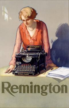 Remington Typewriter by Reinhard Hoffmuller
