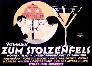 Weinhaus Zum Stolzenfels Restaurant by Reinhard Hoffmuller