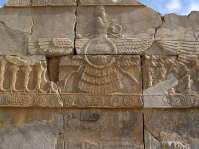 Relief Depicting the God Ahuramazda, Palace of King Darius, Persepolis