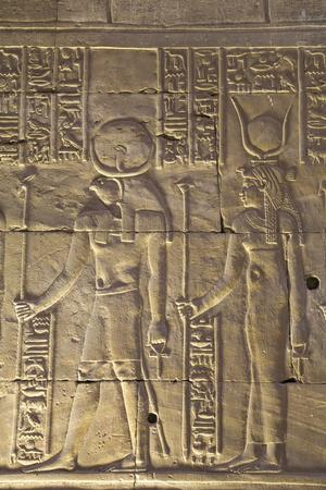 https://imgc.allpostersimages.com/img/posters/relief-depicting-the-god-horus-on-left-and-the-goddess-hathor-on-right_u-L-PWFKYV0.jpg?p=0