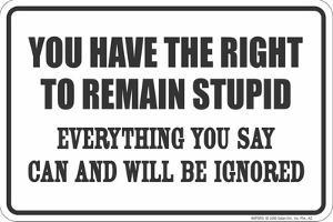 Remain Stupid