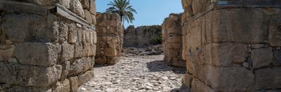 Remains of Tel Megiddo, Galilee, Israel