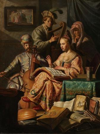 Musical Company, 1626 by Rembrandt Harmensz. van Rijn