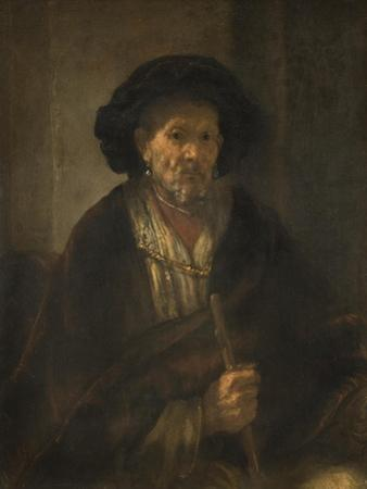 Portrait of an Old Man, 1655 by Rembrandt Harmensz. van Rijn