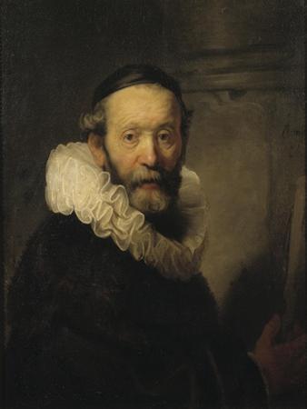 The Preacher Johannes Uttenbogaert, c.1633 by Rembrandt Harmensz. van Rijn