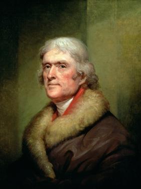 Portrait of Thomas Jefferson, 1805 by Rembrandt Peale