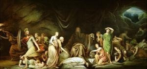 The Court of Death, 1820 by Rembrandt Peale