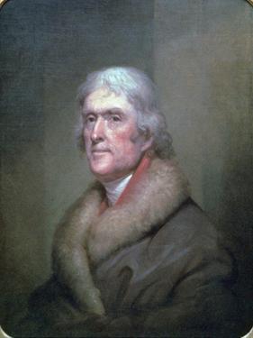 Thomas Jefferson, 1805 by Rembrandt Peale