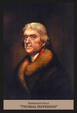 Thomas Jefferson by Rembrandt Peale