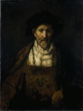 An Old Man in Fanciful Costume by Rembrandt van Rijn