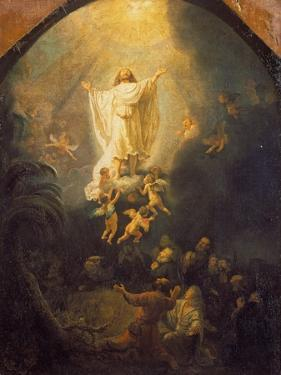 Ascension of Christ, 1636 by Rembrandt van Rijn