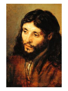Christ by Rembrandt by Rembrandt van Rijn