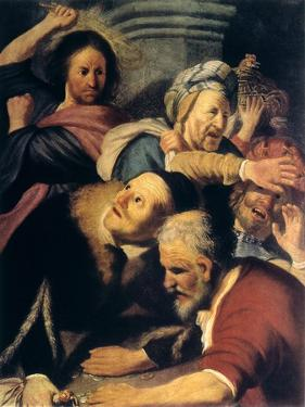Christ Drives the Money-Changers from the Temple, 1626 by Rembrandt van Rijn