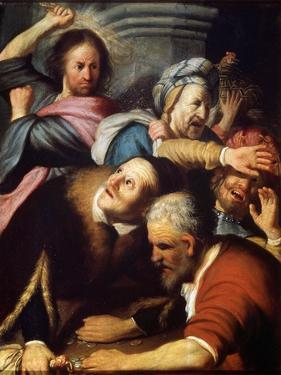 Christ Driving the Money Lenders from the Temple, 1626 by Rembrandt van Rijn