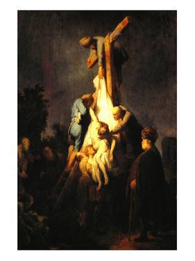 Crucifixion by Rembrandt van Rijn