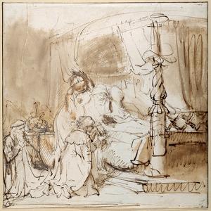 David's Charge to Solomon by Rembrandt van Rijn