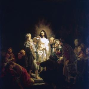 Doubting Thomas, 1634 by Rembrandt van Rijn